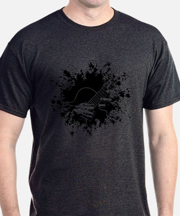 Guitar Hands II -splat T-Shirt