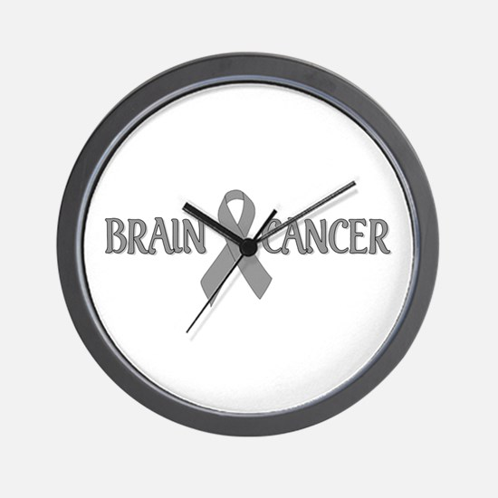 Brain Cancer Wall Clock