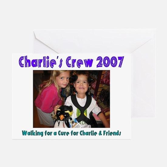 Charlie's Crew 2007 Team Desi Greeting Cards (Pk o
