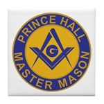 Prince Hall Master Masons Tile Coaster