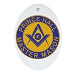 Prince Hall Master Masons Ornament (Oval)