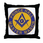 Prince Hall Master Masons Throw Pillow