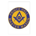 Prince Hall Master Masons Postcards (Package of 8)