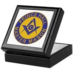 Prince Hall Master Masons Keepsake Box