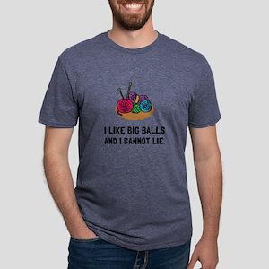 Big Knitting Balls T-Shirt