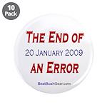 """End of an Error"" 3.5"" Button (10)"