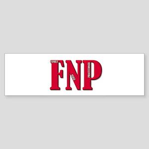 Double FNP Bumper Sticker