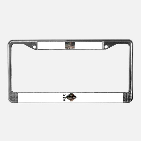 DONT BUG ME ELECTRONIC WORLD License Plate Frame