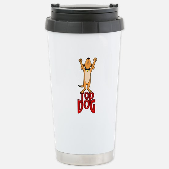Top Dog Stainless Steel Travel Mug