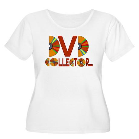 DVD Collector Women's Plus Size Scoop Neck T-Shirt