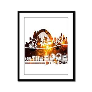 EDGE-FIRE Framed Panel Print