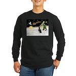 Night Flight/Dobie #1 Long Sleeve Dark T-Shirt