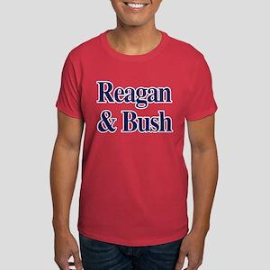 Reagan Bush 1980 Dark T-Shirt