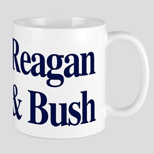 Reagan Bush 1980 Mug