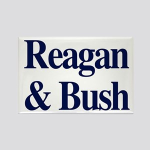 Reagan Bush 1980 Rectangle Magnet