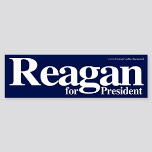 Reagan for President Bumper Sticker