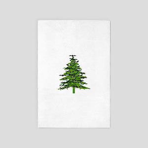 Christmas Bat Tree 4' x 6' Rug