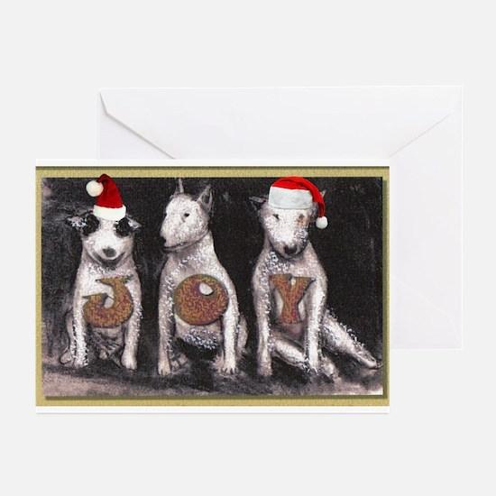 3 Bull Tenors Greeting Cards (Pk of 10)
