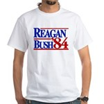 Reagan Bush 1984 White T-Shirt