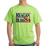 Reagan Bush 1984 Green T-Shirt