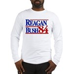 Reagan Bush 1984 Long Sleeve T-Shirt