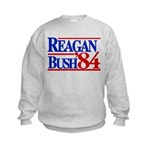 Reagan Bush 1984 Kids Sweatshirt