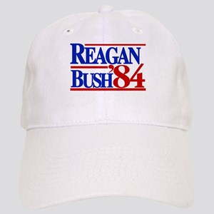 Reagan Bush 1984 Cap