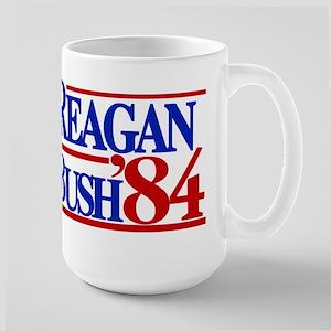 Reagan Bush 1984 Large Mug