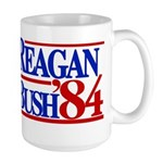 Reagan Bush 1984 Large Mug
