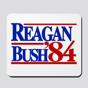 Reagan Bush 1984 Mousepad