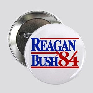 "Reagan Bush 1984 2.25"" Button"