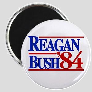 Reagan Bush 1984 Magnet