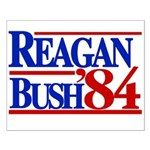 Reagan Bush 1984 Small Poster