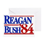 Reagan Bush 1984 Greeting Cards (Pk of 10)