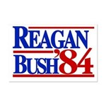 Reagan Bush 1984 Mini Poster Print
