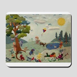 Gnome Playground Mousepad
