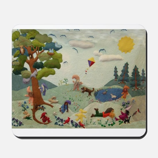 Gnome Playground Mousepad