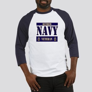 Retired Navy Veteran Baseball Jersey
