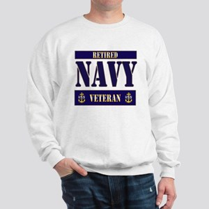 Retired Navy Veteran Sweatshirt