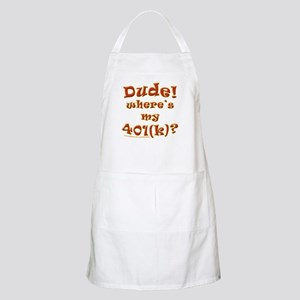 Is it 2009 yet? BBQ Apron