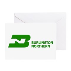 Burlington Northern Greeting Cards (Pk of 20)