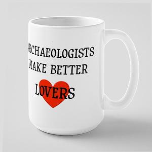 Archaeologist gift Large Mug