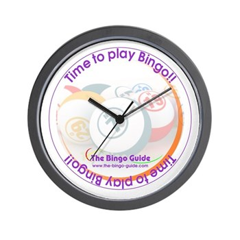 Bingo Lover's Wall Clock