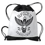 Eagle Skate Drawstring Bag