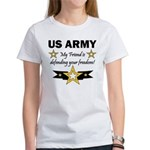 US Army Friend Patriotic Women's T-Shirt