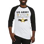 US Army Friend Patriotic Baseball Jersey