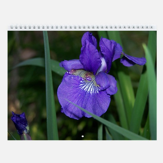Funny Flower and art Wall Calendar