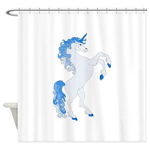 Unicorn Fantasy Design Shower Curtains
