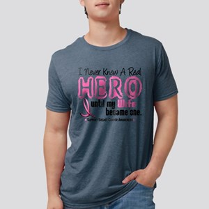 Never Knew A Hero 4 PINK (Wife) T-Shirt