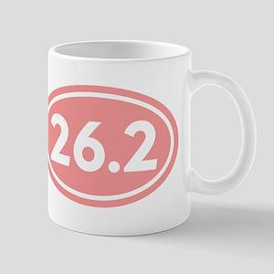 26.2 Marathon Oval Mug